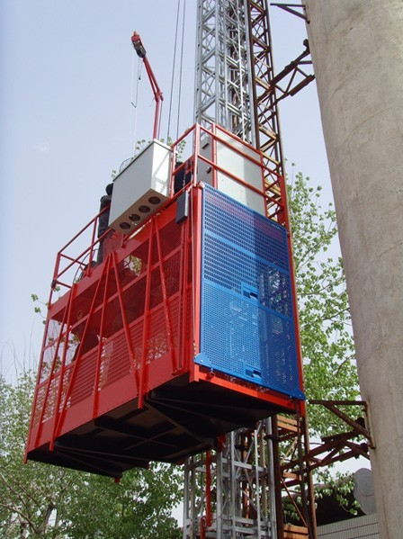 Personalize Construction Lifting Equipment Hoist Elevator Material Lifts
