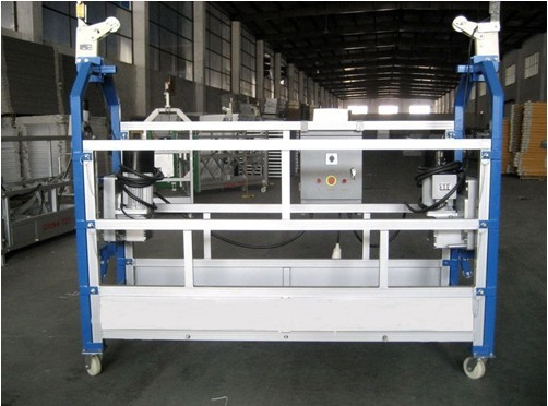 Personalized Aluminum Rope Suspended Platform Construction Elevator