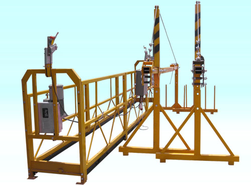 Customized Suspended Platform Cradle Scaffold Systems with Safety Lock