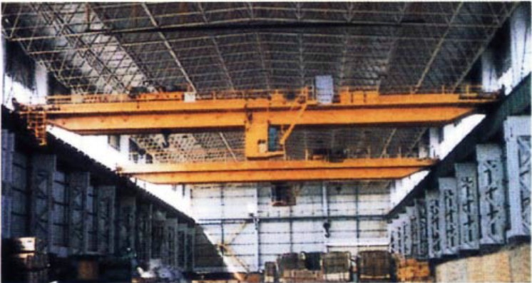 QD Type 5t - 10t 2 - 3 Purpose Double Girder Electric Overhead Crane and Bridge Cranes