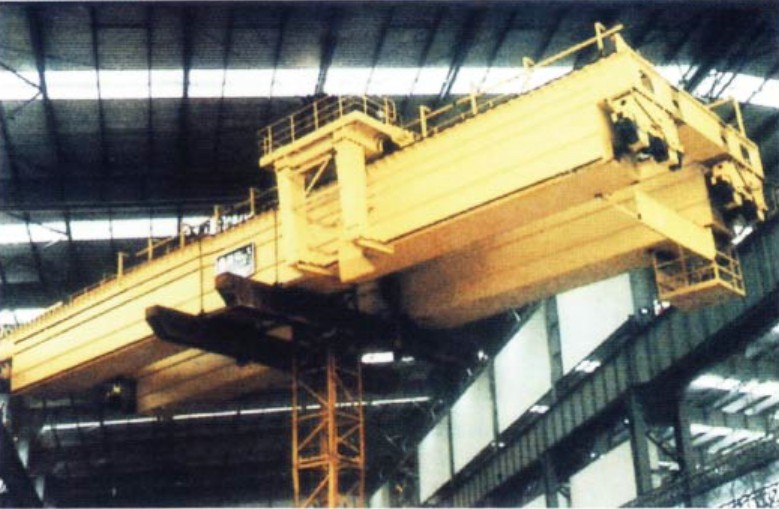 QD Type 75 / 25t ~ 200 / 32t Double Girdle Electric Overhead Crane with 31.5m Span