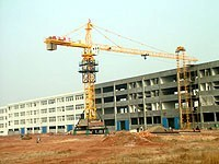Tower Crane Including Height Limiter, Weight Limit Max. Lifting capacity: 6ton